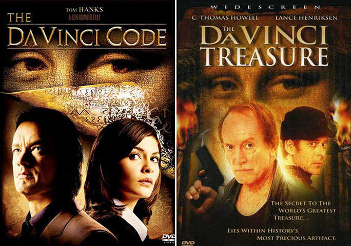 The Da Vinci Code vs The Da Vinci Treasure
