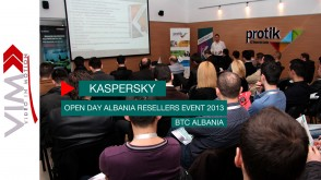 Kaspersky Open Day Albania – Resellers Event 2013