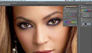 Si te ndryshojme ngjyren e syve ne Photoshop