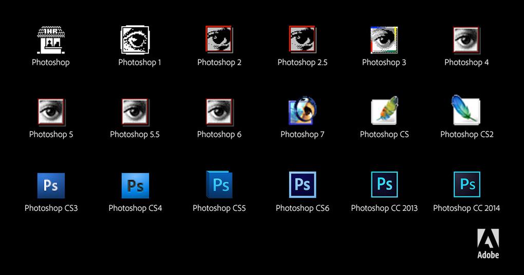 photoshop-ikonat-pergjate-viteve